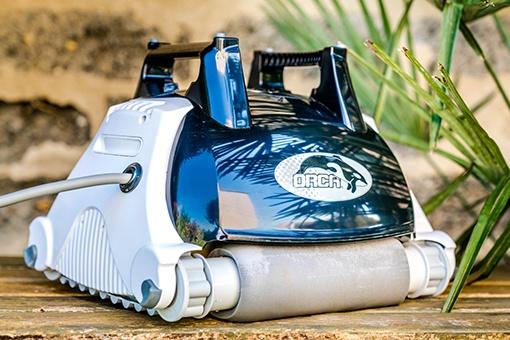 Robot orca 250, robot pisicne