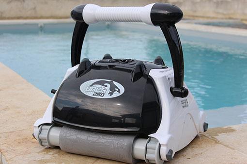 Robot Orca 250, le meilleur robot piscine
